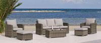 Sofa de lujo para exteriores Ocean - Sofa de lujo para exteriores Oceanv
