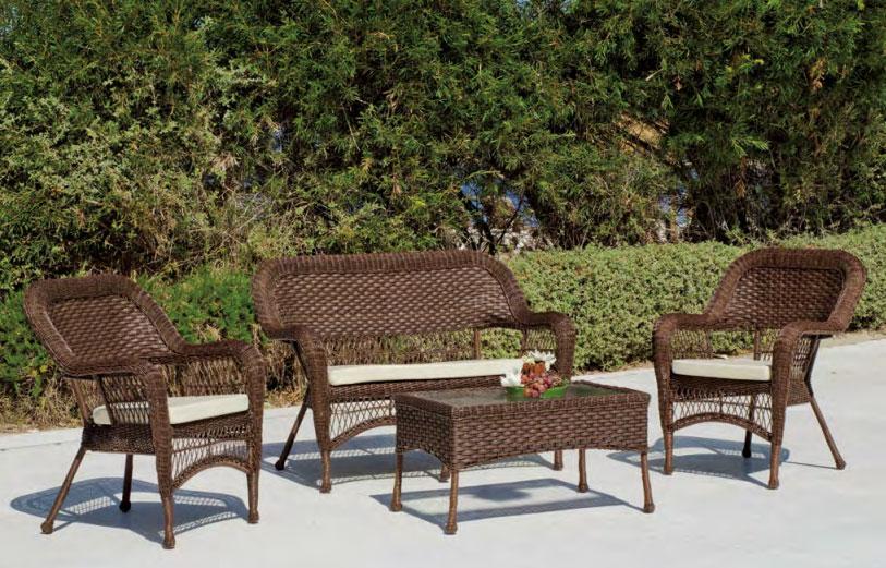 Set muebles de lujo para exteriores Quintana - Set muebles de lujo para exteriores Quintana