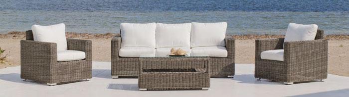 Set muebles de lujo para exteriores Toscana - Set muebles para exteriores  Toscana