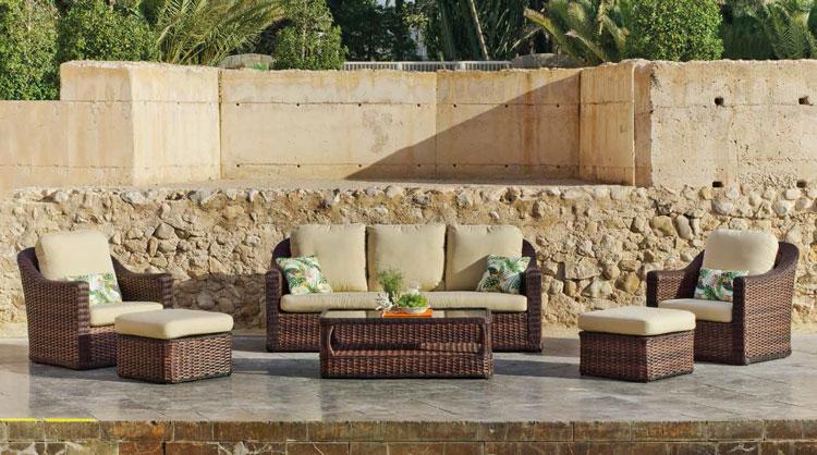 Sofa de lujo para exteriores Orán - Sofa de lujo para exteriores Orán