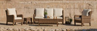 Sofa de lujo para exteriores Etna - Sofa de lujo para exteriores Etna