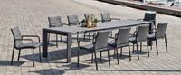 Mesa Aluminio extensible CORSICA - Mesa Aluminio extensible CORSICA, fabricado en aluminio y sillones en textilen