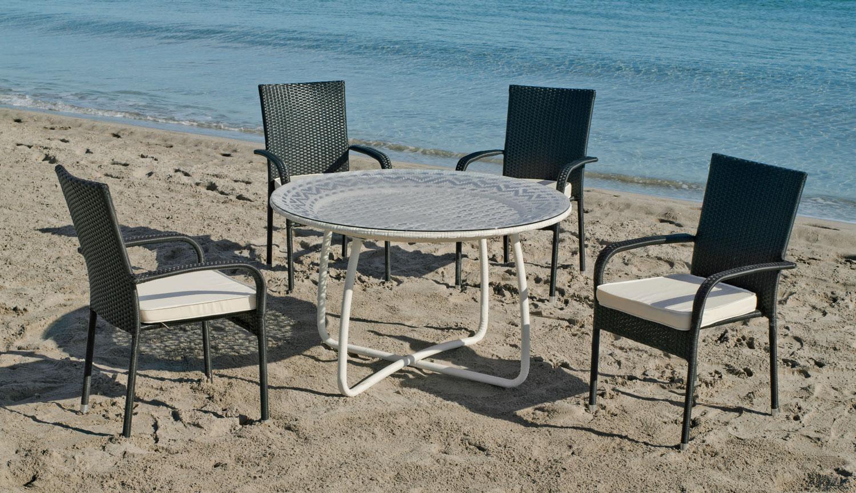 Set de mesa y sillones  BRISTOL -AMPURIAS - SET BRISTOL/AMPURIAS