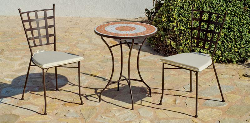 Mesa Mosaico Malaga 60 - Mesa Mosaico Malaga 60