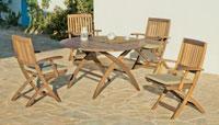 Mesa o Sillón Mondovy - Mesa o Sillón Mondovy, fabricado en madera hardwood