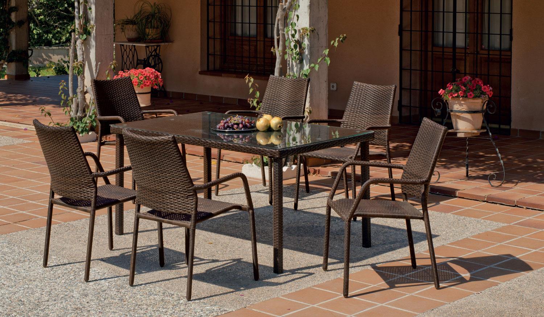 Mesa o sillas de jardín Tarsos 150 - Mesa o sillas de jardín Tarsos 150