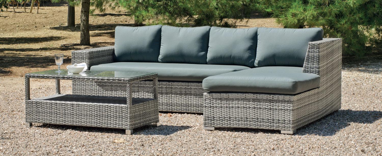 Mia home sof de exterior vancuber 7 for Sofa rinconera exterior