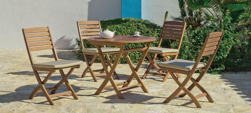 Mesa o Silla Melrose - Mesa o Silla Melrose, fabricado en madera hardwood