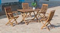 Mesa o Sillón Merida - Mesa o Sillón Merida, fabricado en madera hardwood