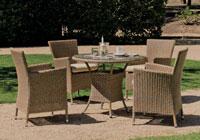 Mesa o sillón Venus 70 - Mesa o sillón Venus 70, fabricado en ratán