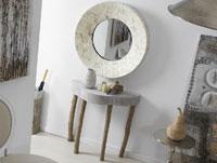 Consola Kristy o Espejo Madre Perla - Consola Kristy o Espejo Madre Perla