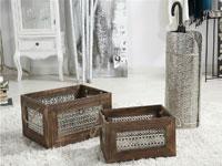 Caja de madera/metal o Paraguero  - Caja de madera /metal o Paraguero IMRI diseño original