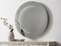 Espejo redondo LED - Espejo redondo con LED