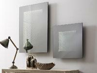 Espejo cuadrado o rectangular LED - Espejo cuadrado o rectangular LED