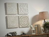 Set de paneles de madera tallada Texturas - Set de paneles de madera tallada Texturas