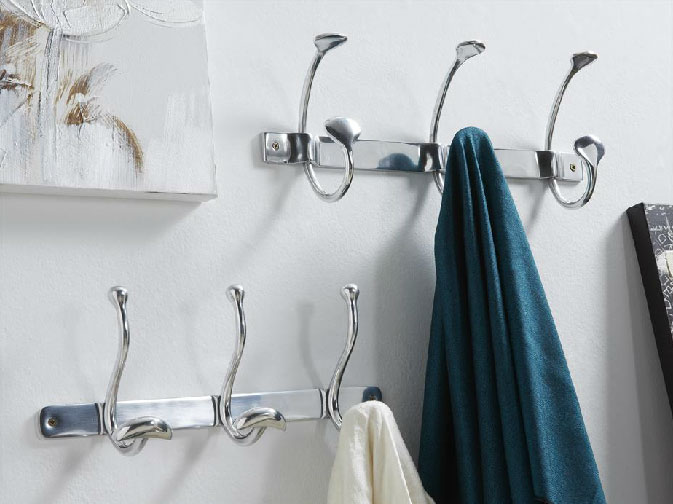 Perchero en aluminio  - Perchero en aluminio diseño moderno