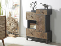 Mueble auxiliar de madera - Mueble auxiliar de madera recliclada