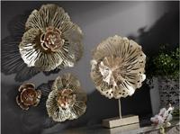 Flor abstracta de forja  - Flor abstracta de forja fabricada en metal