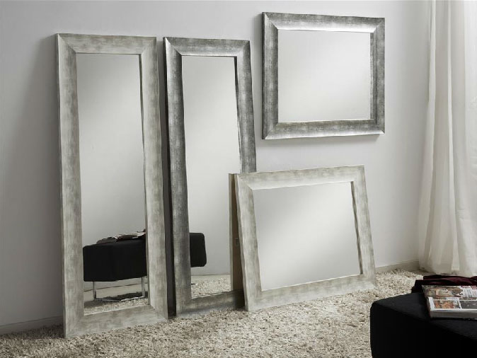 espejos rectangulares blanco gris mia home
