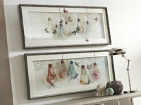 Cuadros de bombillas cristal - Cuadros de bombillas cristal, imagen impresa