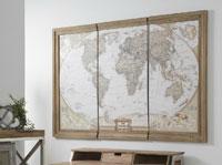 Cuadro de mapa mundi - Cuadro de mapa mundi