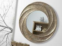 Espejos de metal Espiral - Espejos de metal Espiral