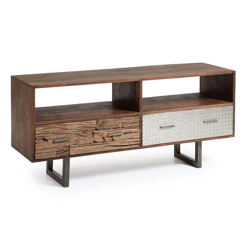 Mueble de tv loft mia home for Muebles industrial loft