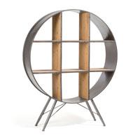 Estanteria Helia - HELIA Estanteria de madera y metal