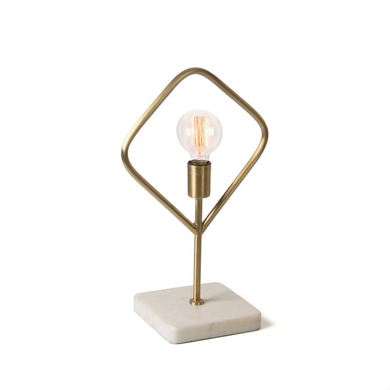 ADDRA Lámpara de mesa  - ADDRA Lámpara de mesa metal latón