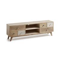 Mueble de TV Hood - HOOD Mueble TV madera natural