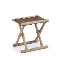Taburete Livy - LIVY Taburete madera asiento piel