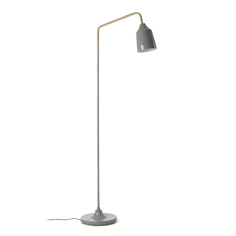 BECK Lámpara de pie - BECK Lámpara de pie metal gris