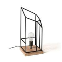 BENKA Lámpara de mesa  - BENKA Lámpara de mesa metal negro