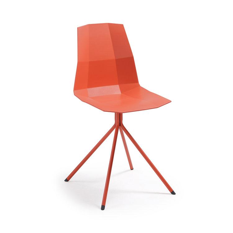 Silla Pixel - PIXEL Silla pie epoxy asiento plástico