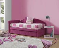 Cama Juvenil Rosa - Cama Juvenil Rosa, fabricado con materiales de máxima calidad