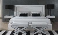 Cabecero Ursula - Cabecero Ursula, fabricado con telas de máxima calidad de tacto suave