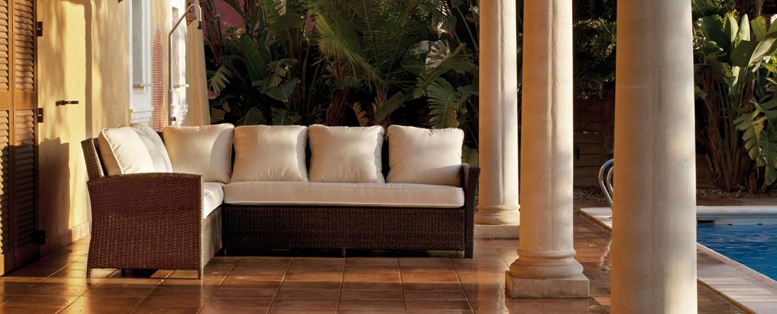 Juego de muebles para exteriores Karisa - Juego de muebles para terrazas o jardines Karisa