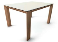Mesa de comedor 180 cm extensible a 268 cm - Mesa de comedor extensible en chapa
