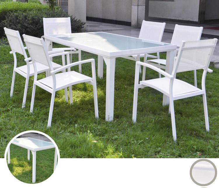 Mesa para exterior o sillones OSLO