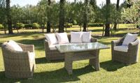 Set de sofá para exterior Gales - Set de muebles de sofá  para exterior Gales