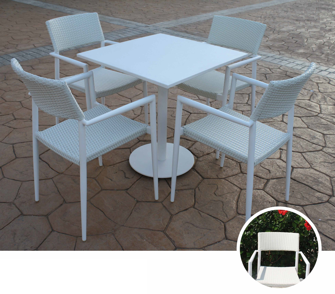 Mia home mesa para exteriores y sillones lago for Sillones para exteriores precios