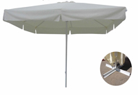 Parasol rectangular en acero y poliester 1828 - Parasol rectangular en acero y poliester 1828