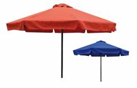Parasol con faldon en aluminio y poliester 8270 - Parasol con faldon en aluminio y poliester 8270