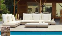Set de sofá para exterior Passion - Set de muebles de sofá  para exterior Passion