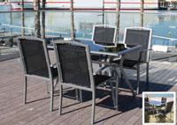 Set de mesa y sillón para exterior 1278 - Set de mesa y sillón para exterior 1278