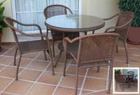 Set de mesa para exterior 833 - Set de mesa de exterior 833