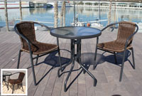 Set de mesa para exterior Bandu - Set de mesa de exterior Bandu