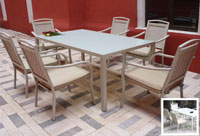 Set de mesa para exterior Dakota - Set de mesa de exterior Dakota