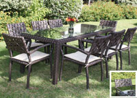 Set de mesa para exterior Dely - Set de mesa de exterior Dely