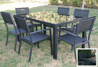 Set de mesa para exterior Hannover - Set de mesa de exterior Hannover